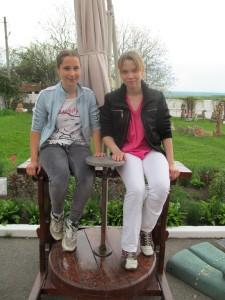 Natasha Lebedyeva and Nastya Puzir