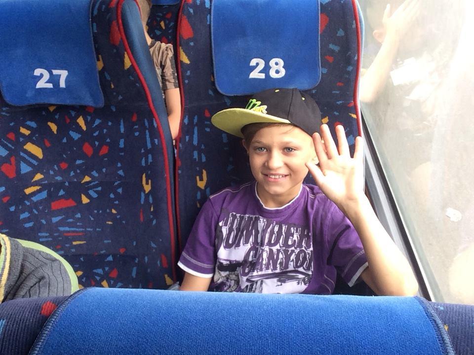 sergei on the bus