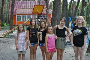 girls in park